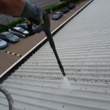 industrial pressure washing roof